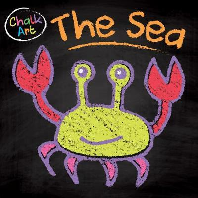 Chalk Art Sea image