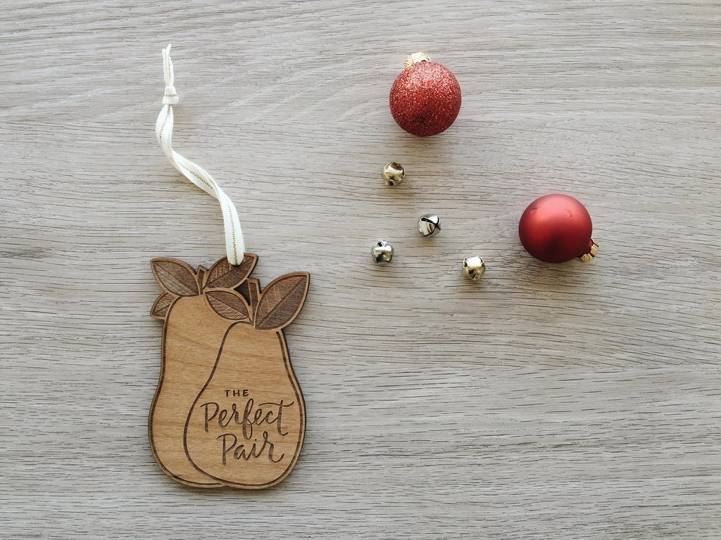 Cardtorial Christmas Ornament - Perfect Pair image