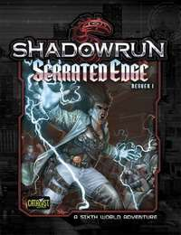 Shadowrun RPG: Denver 1 Serrated Edge - Adventure Module