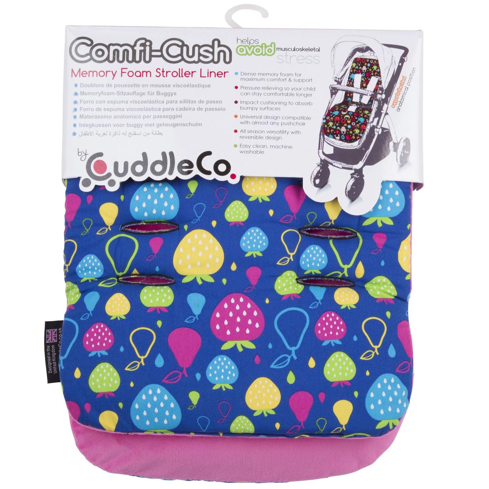 Cuddle Co: Comfi-Cush Memory Foam Stroller Liner - Tutti Frutti image