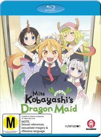 Miss Kobayashi's Dragon Maid: The Complete Series on Blu-ray
