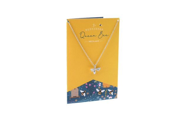 Queen Bee Necklace & Card