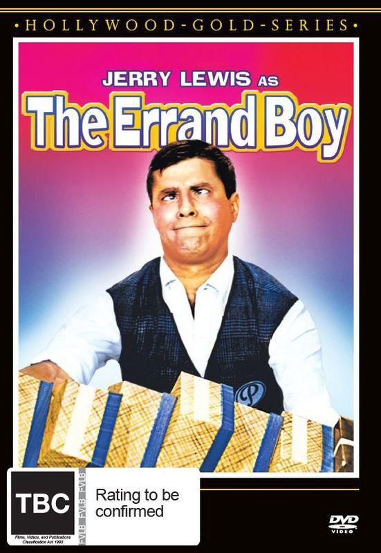 The Errand Boy on DVD