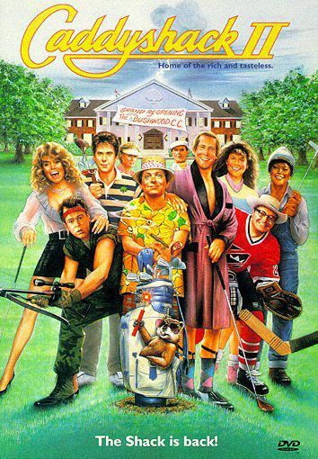 Caddyshack II on DVD image
