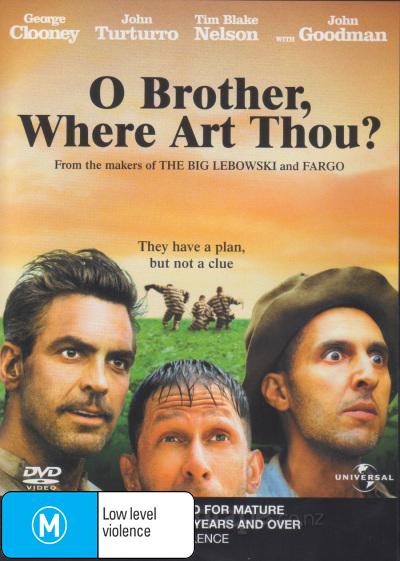 O Brother, Where Art Thou? DVD