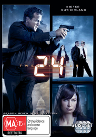 24 - Season 7 on DVD image