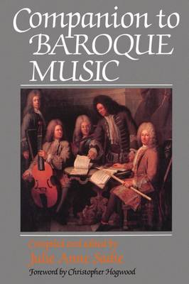 Companion to Baroque Music image