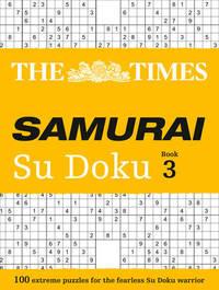 The Times Samurai Su Doku 3 by The Times