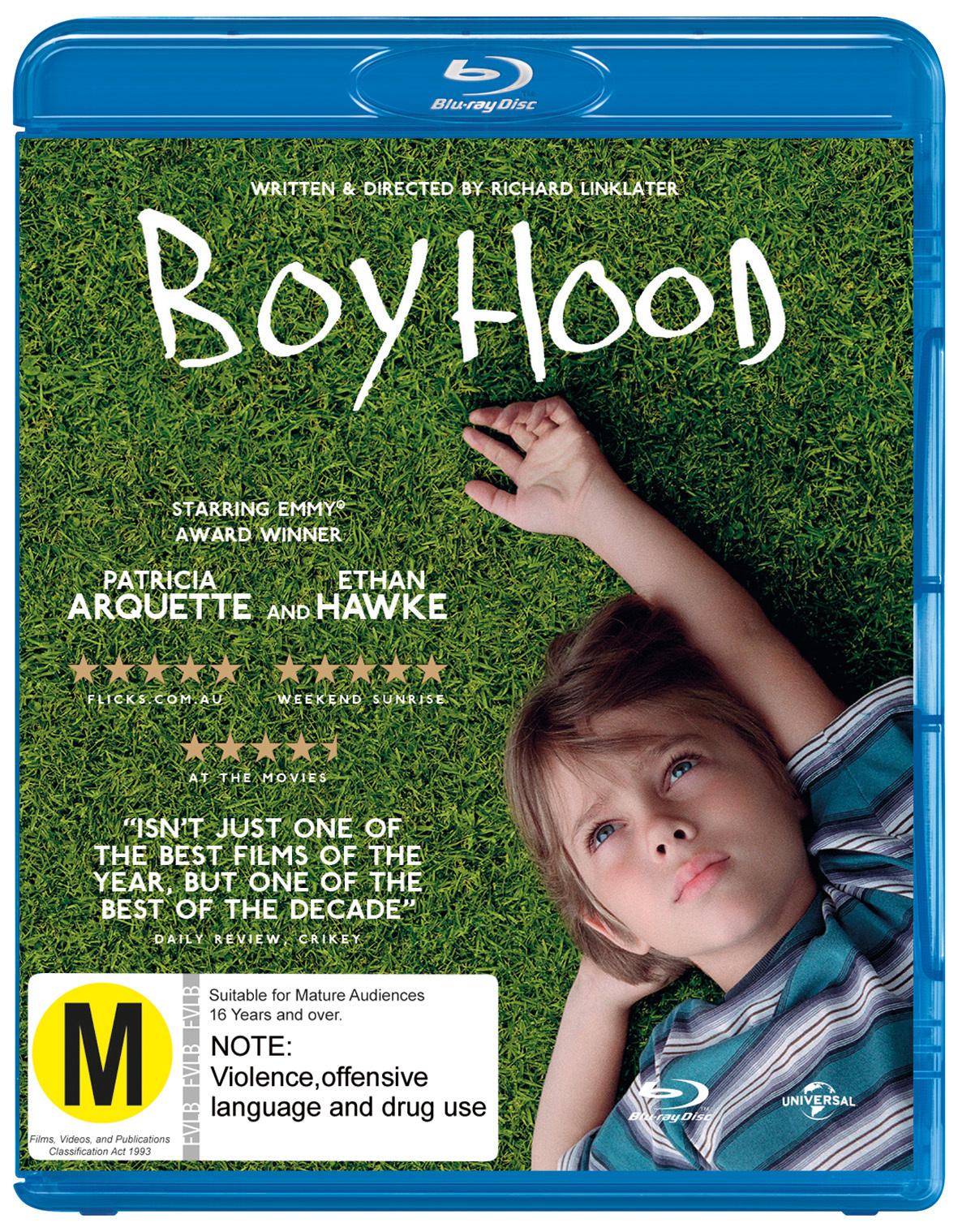 Boyhood on Blu-ray image