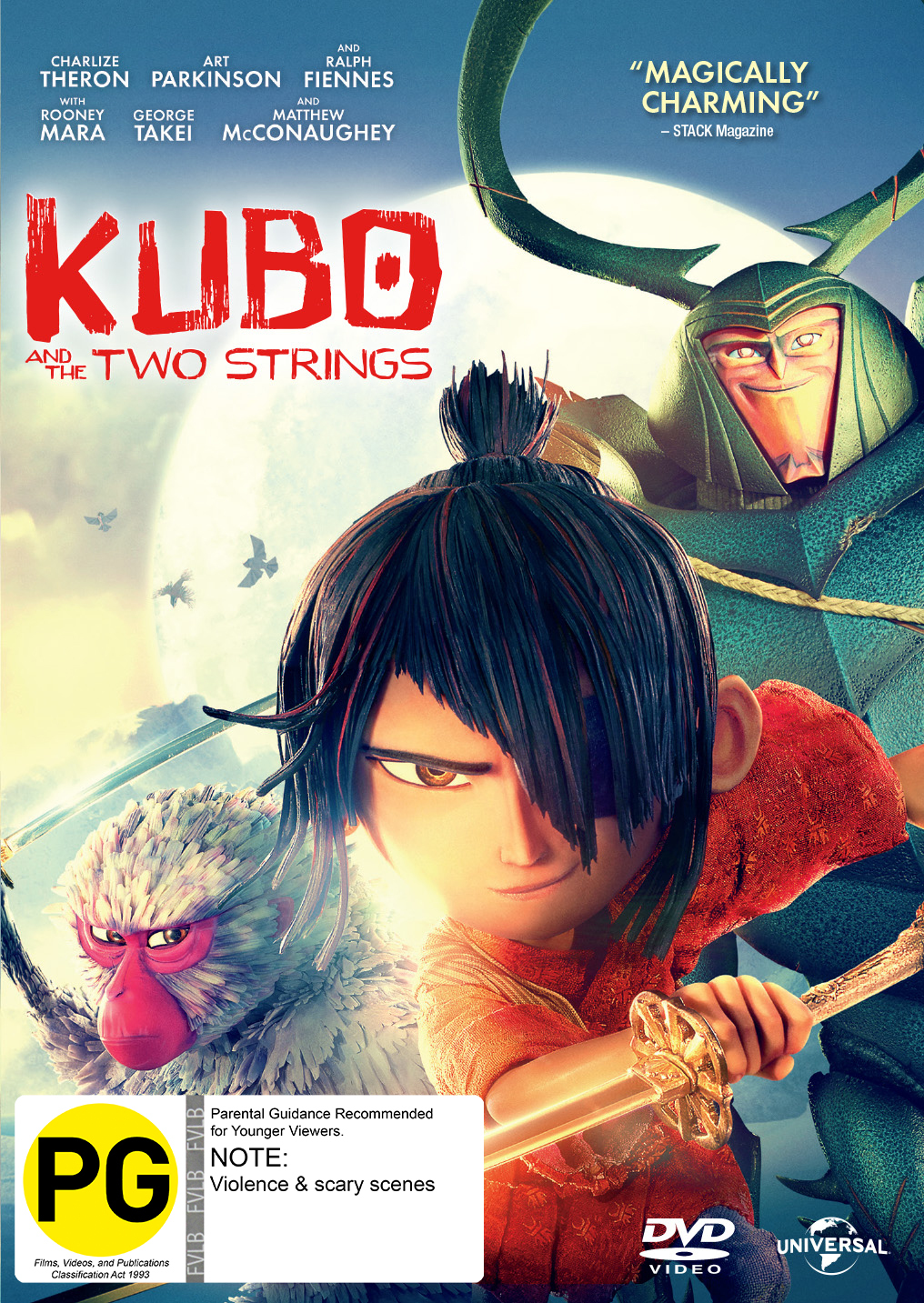 Kubo and The Two Strings on DVD image