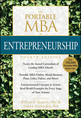 The Portable MBA in Entrepreneurship, Fourth Edition by William D. Bygrave image