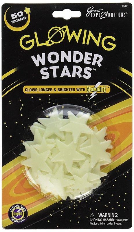 Great Explorations Wonder Stars - Glow in Dark