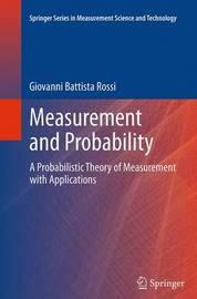 Measurement and Probability by Giovanni Battista Rossi