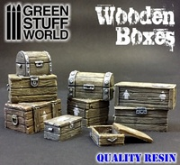 Green Stuff World: Wooden Boxes Set