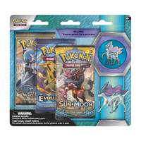 Pokemon TCG Suicune 3 Pack Pin Blister