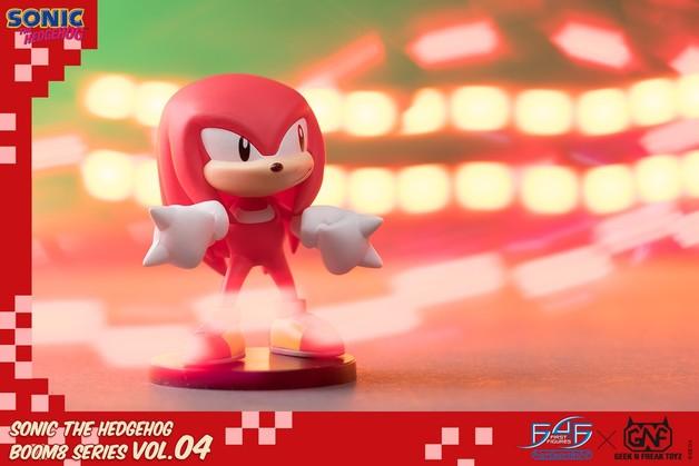 "Sonic the Hedgehog: Knuckles - 3"" Boom8 Figure"