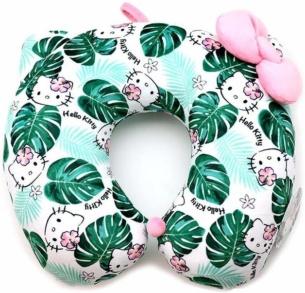 Hello Kitty: Neck Pillow - Summer Jungle