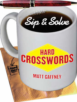 Hard Crosswords by Matt Gaffney image