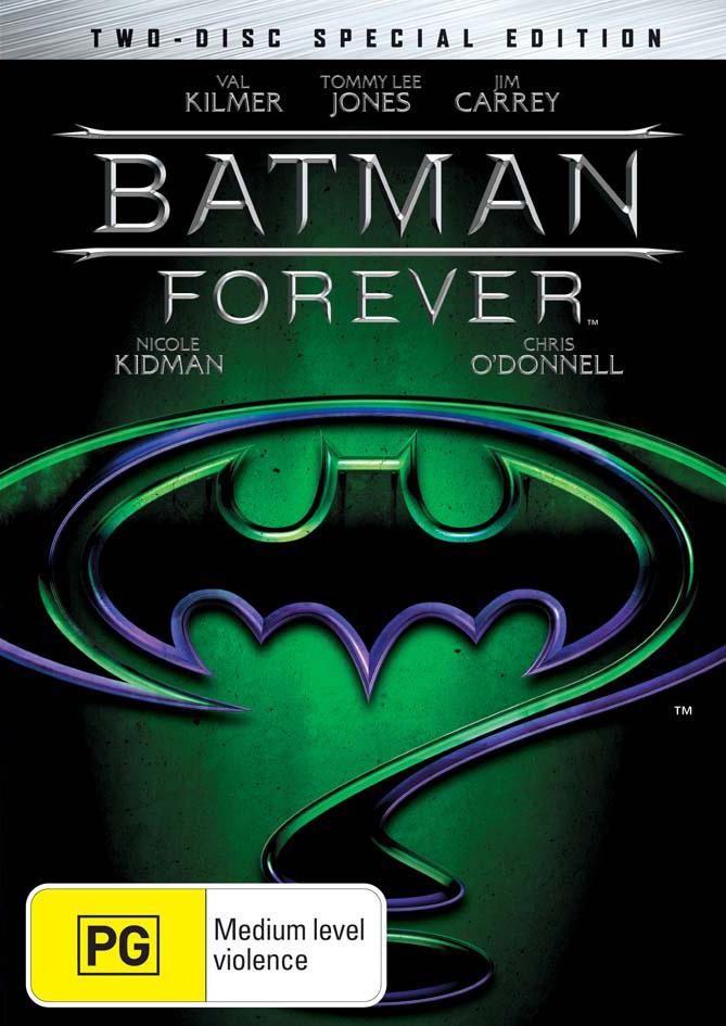 Batman Forever - Special Edition on DVD image