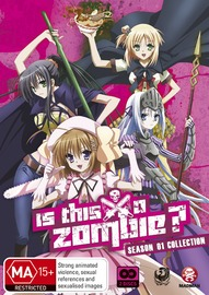 Is this a Zombie? Season 1 Collection on DVD
