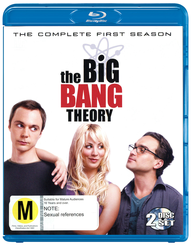 The Big Bang Theory - The Complete First Season on Blu-ray