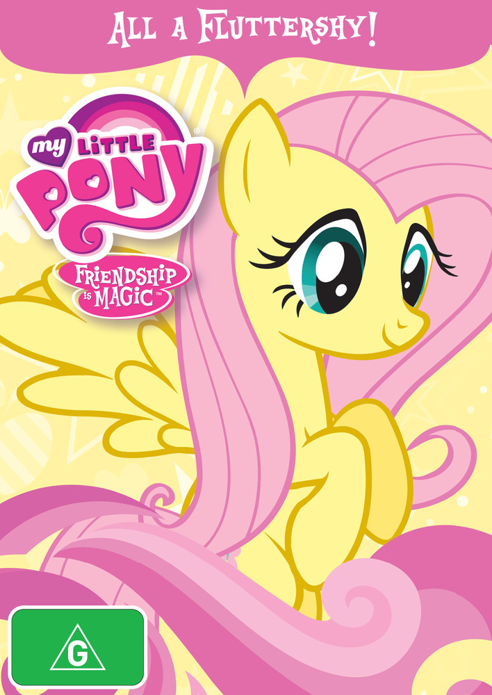 My Little Pony: Friendship Is Magic - All A Fluttershy! on DVD image
