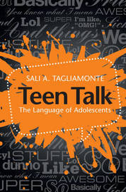 Teen Talk by Sali A Tagliamonte image