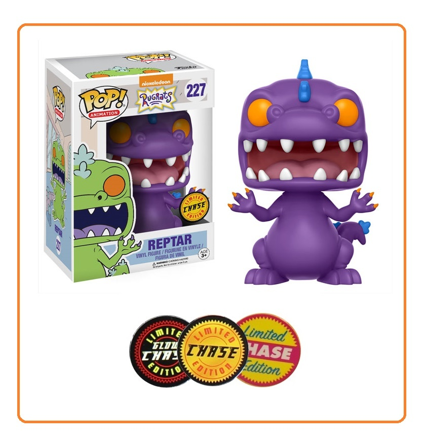 Rugrats - Reptar Pop! Vinyl Figure (with a chance for a Chase version!) image