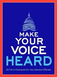 Make Your Voice Heard Postcard Book by Sterling Publishing Company image
