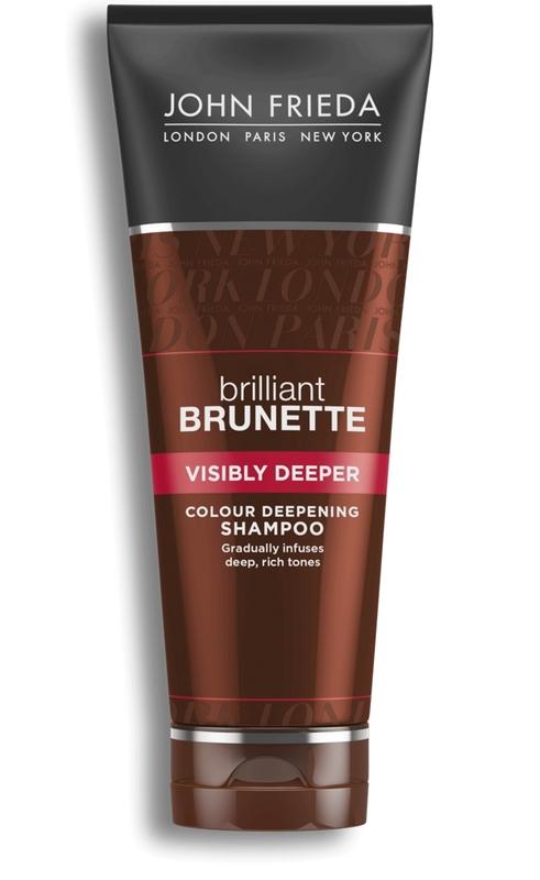 John Frieda Brilliant Brunette Visibly Deeper Shampoo (250ml)