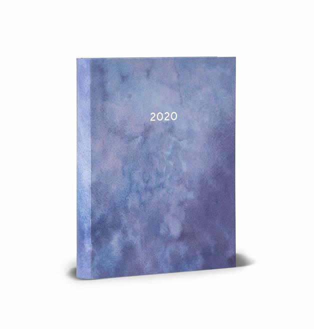 2020 High Note Mindfulness Sea Smoke in Silver 18-Month Weekly Planner