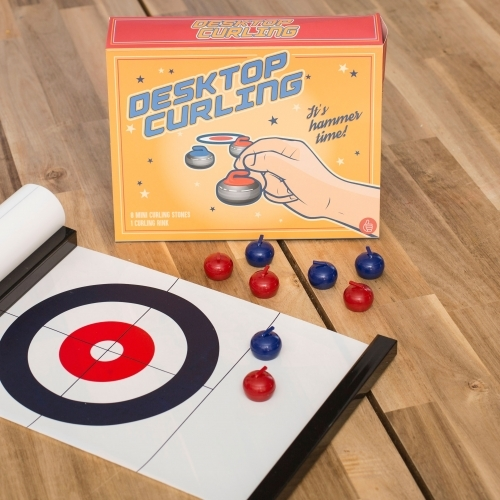 Thumbs Up!: Desktop Curling
