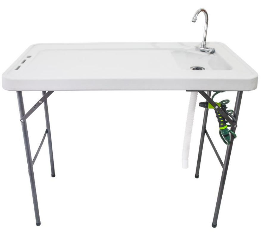 Premium Fish Filleting Table with Tap and Hose image