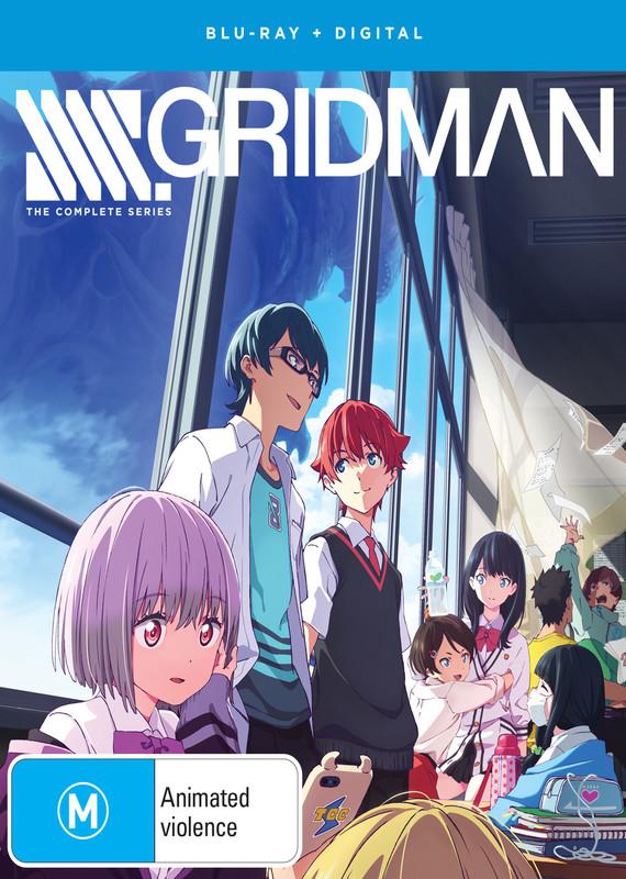Ssss.gridman Complete Series on Blu-ray