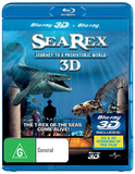 Sea Rex 3D: Journey To A Prehistoric World on Blu-ray, 3D Blu-ray