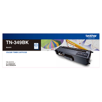 Brother TN349BK Black Toner Cartridge