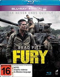 Fury (Blu-ray/Ultraviolet) on Blu-ray
