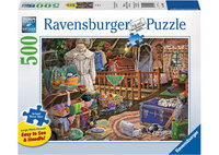 Ravensburger – The Attic Lge Form Puzzle 500pc