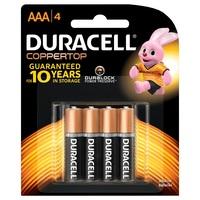 Duracell Coppertop AAA 4pk