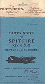 Air Ministry Pilot's Notes: Supermarine Spitfire XIV and XIX image