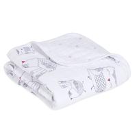 Aden+ Anais: Classic Stroller Blankets - Lovebird