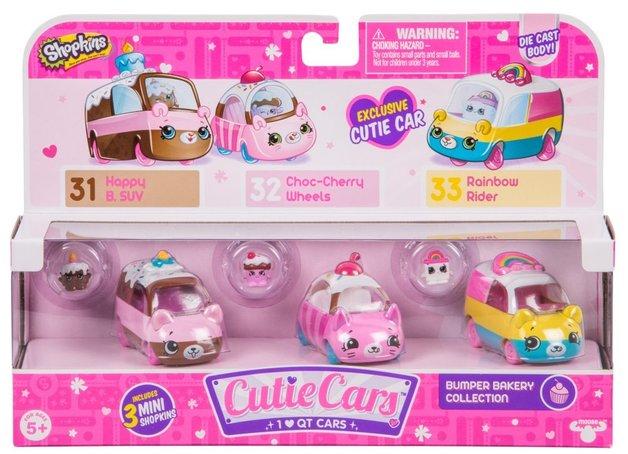 Shopkins: Cutie Cars 3-Pack - Bumper Bakery