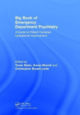 Big Book of Emergency Department Psychiatry by Yener Balan image