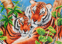 Diamond Dotz: Facet Art Kit - Tender Tigers