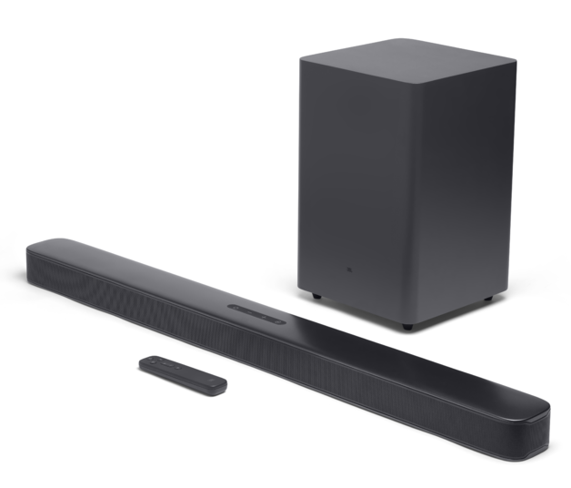 JBL: Bar 2.1 Deep Bass Soundbar - with Wireless Subwoofer