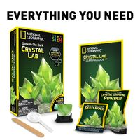 National Geographic: Glow-in-the-Dark Crystal Growing Lab - Green