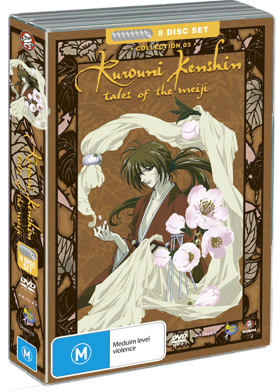 Rurouni Kenshin - Box 3 - Tales of the Meiiji Collection (Fatpack) on DVD