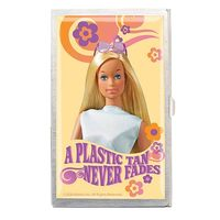 Barbie Metal Business Card Holder