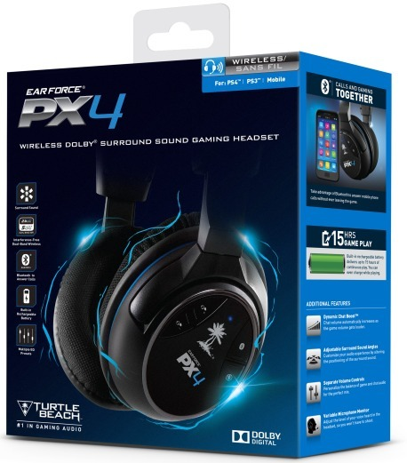 Turtle Beach Ear Force PX4 Headset | PS4 | Buy Now | at