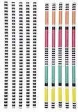 Paper Straws - Avalon (Set of 64)